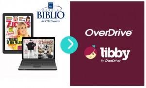 Plateforme Libby - magazines numériques